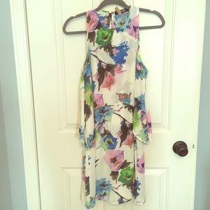 Romwe watercolor dress